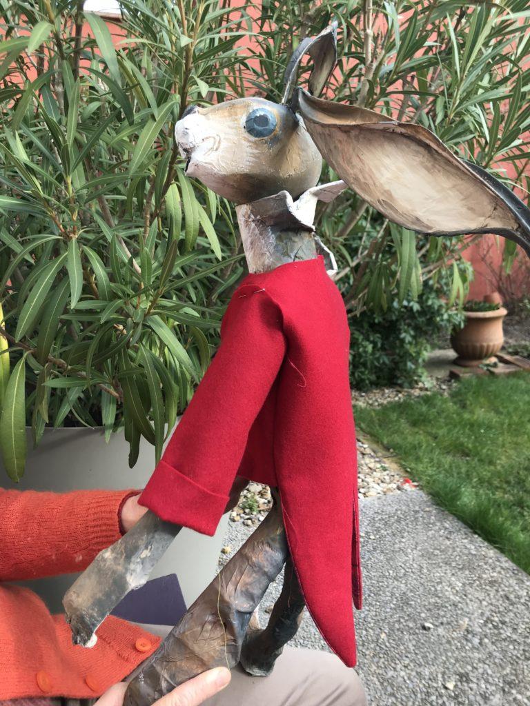 habillage du lapin La Décothèque